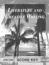 Literature And Creative Writing PACE SCORE Key 1046-1048, Grade 4