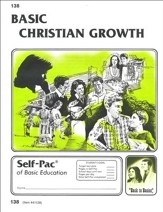 Christian Growth Self-Pac 138, Grades 9-12