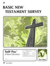 New Testament Survey Self-Pac 97, Grades 9-12