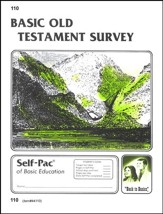 Old Testament Survey Self-Pac 110, Grade 9-12