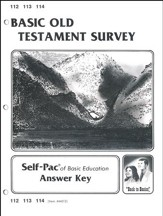Old Testament Survey Key 112-114