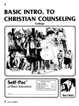 Introduction To Christian Counsel Self-Pac 3