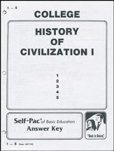History Of Civilization 1 Key 1-5