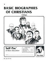 Biographies Of Christians Self-Pac 5, Grades 9-12