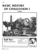 History Of Civilization 1 Self-Pac 10