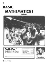 College Math Self-Pac 3