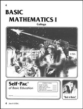 College Math Self-Pac 4