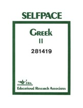 Greek Self-Pac 19, Grade 9-12