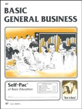 General Business Self-Pac 97 Grade 9