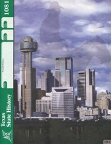 4th Edition Texas State History PACE  1081 Grade 7