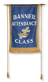 Attendance Banner with Crossbar