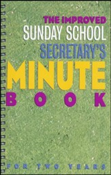 Improved Sunday School Secretary's Minute Book