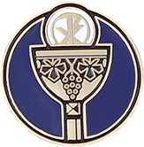 Holy Eucharist Pin