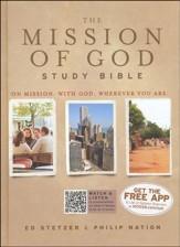 HCSB The Mission of God Study Bible, Hardcover
