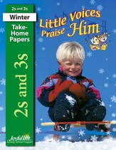 Little Voices Praise Him (ages 2 & 3) Take-Home Papers