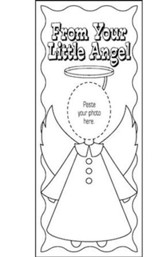 Angel-Photo Bookmark