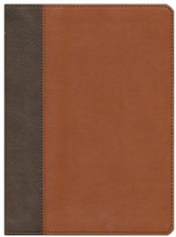 HCSB The Mission of God Study Bible, Brown & Tan Simulated Leather