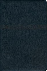 Biblia del Pescador RVR 1960, Piel Genuina Negra  (RVR 1960 Fishers of Men Bible, Black Genuine Leather)