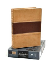 HCSB Apologetics Study Bible, Brown & Tan Simulated Leather, Indexed