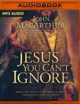 The Jesus You Can't Ignore: What You Must Learn from the Bold Confrontations of Christ - abridged audio book on MP3-CD