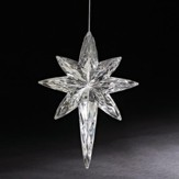 Crystal Star of Bethlehem Ornament