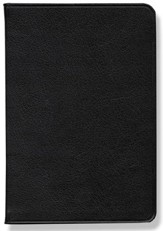 NASB Pitt Minion Reference Bible, Goatskin leather, black