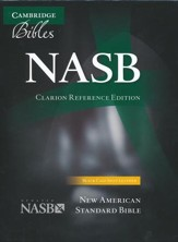 NASB Clarion Reference--calf-split leather, black