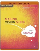 Making Vision Stick - unabridged audio book on MP3-CD