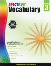 Spectrum Vocabulary Grade 3 (2014  Update)
