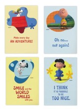 Birthday, Peanuts Adventure Cards, Box of 12