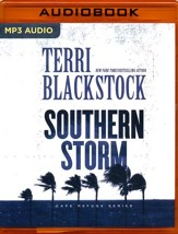 Southern Storm - unabridged audio book on MP3-CD