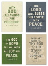 Bold Assurance - Blank All-Occasion Cards, KJV, Box of 12