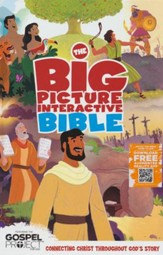 The HCSB Big Picture Interactive Bible, hardcover (slightly imperfect)