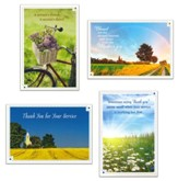 Service Appreciation Cards, Box of 12
