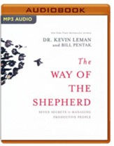 The Way of the Shepherd: Seven Secrets to Managing Productive People - unabridged audio book on MP3-CD