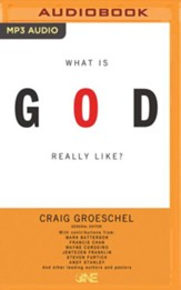 What Is God Really Like? - unabridged audio book on MP3-CD