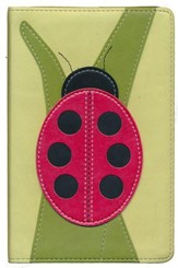 The NIV Bug Collection Compact Bible: Italian Duo-Tone, Ladybug