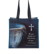 Overflowing with Thanks Tote Bag