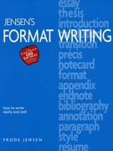 Jensen's Format Writing, Revised  - Slightly Imperfect