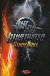 NKJV Illustrated Study Bible for Kids, Boys Edition, Hardcover - Slightly Imperfect