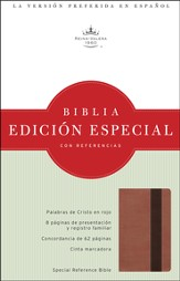 Biblia RVR 1960 Edicion Especial Ref., Piel Simil Cobre/Marron  (RVR 1960 Special Ref. Bible, LeatherTouch Copper/Brown)