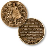 Armor of God Relief Coin