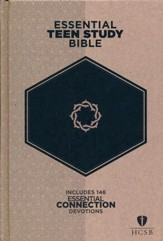 HCSB Essential Teen Study Bible, Hardcover
