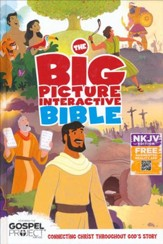 NKJV Big Picture Interactive Bible, Hardcover - Slightly Imperfect