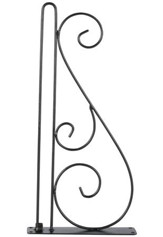 Scroll Wall Bracket, Garden Flags