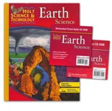 Holt Science & Technology: Earth  Science Homeschool Package with Parent Guide CD-ROM