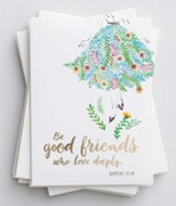 Be Good Friends, Blank Notecards, Pack of 10