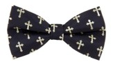 Cross Bow Tie, Black