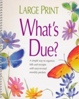 What's Due Bill Payer, Large Print