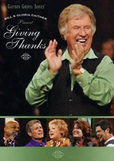 Giving Thanks, DVD